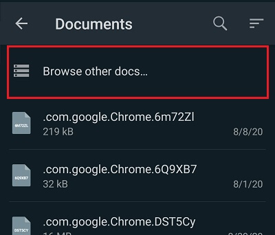 browse other document