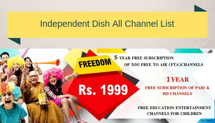 Independent Tv Channel List